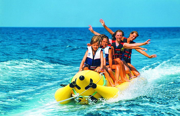 Категории водных развлечений на Кипре