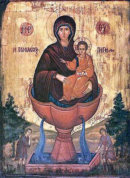 Живоносный источник Богородицы на Кипре