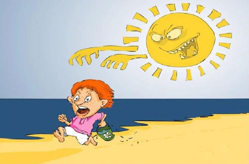Что делать при перегреве, солнечном и тепловом ударе