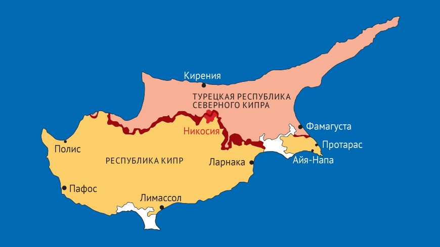 Карта ТРСК