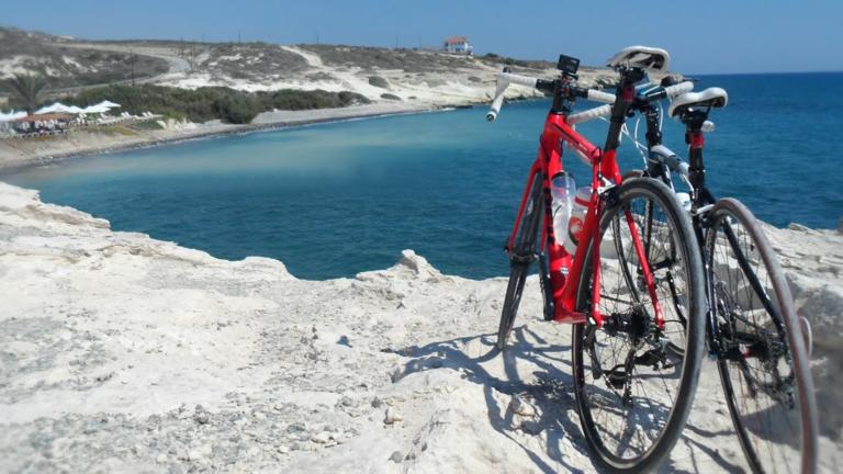 Велосипед на Кипре